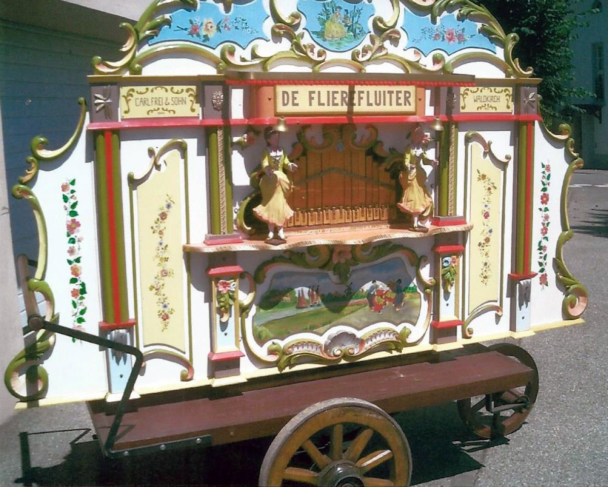 Carl Frei -The Fliere Fluiter- Dutch Street organ