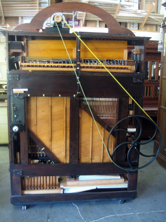Orchestrion, Nickelodeon, Piano  by CH. Marenghi